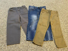 Lot Of 3 Toddler Boy Pants/ Jeans. Size 2T. Guess & Wrangler