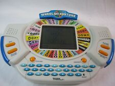 Wheel Of Fortune Handheld Video Game System with cartridge Works Great! Classic!