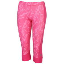 *NEW* adidas Tech Fit All Over Pattern Pink Three Quarter Tights Size 16-18 (L)