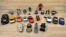 Lot Of 22 VINTAGE 1980's GOBOTS - In Fair To Good Condition See Photos