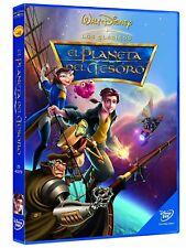 Dvd Disney el planeta del tesoro (edición especial)