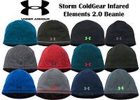 Under Armour Men's UA 1262141  ColdGear Infrared Elements Storm 2.0 Beanie Storm