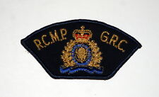 Vintage Canadian R.C.M.P. Insignia Shoulder Patch