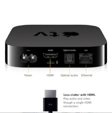 Apple Tv 2nd Generation Media Streamer A1378 (No Remote Control) (Device Only)