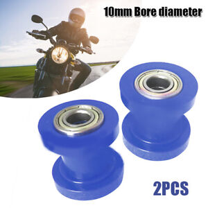 10mm Chain Roller Slider Tensioner Wheel Guide Pulley Dirt Pit Bikes Motorcycle