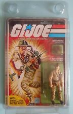 VINTAGE HASBRO ARAH GI JOE PEACH CARD RECONDO 1984 FACTORY SEALED RARE HTF MOSC