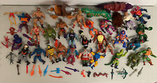 Vintage 1980s Motu He Man Masters Of The Universe Action Parts Figure Weapon Lot