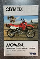 Clymer Honda XR600R & XR650L Service Manual 1991-2007