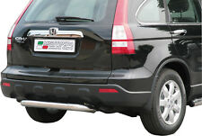 FIT HONDA CRV  2007-2010 Rear Bumper Protection Bar Stainless Steel  Ø76MM