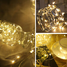 1-10M USB LED Lichterkette Außenlichterkette Weihnachtsdeko Außen Beleuchtung PD