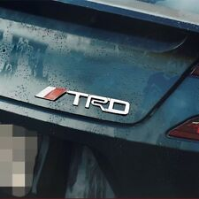 NEW JDM Chrome TRD Racing 3D Emblem Decal Trunk Metal Badge Sticker