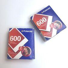 Polaroid 600 Instant Film 20 x 2 (40) Exposures Sealed Unopened Expired 3/2006