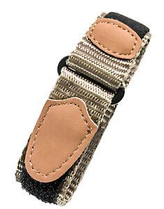 Voguestrap 16-20mm Nylon Watchband | Watchstrap Fits Timex Expedition | Unisex