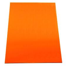 MagFlex® A4 Flexible Magnetic Sheet - Matt Orange (1 Sheet)