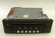 CD-Radio original Citroen C3 Peugeot 207 307 Siemens-VDO RD4 N1-01 PSARCD411-61