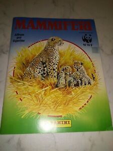 ALBUM FIGURINE - MAMMIFERI - PANINI 400 figurine.   COMPLETO !  1989 OTTIMO