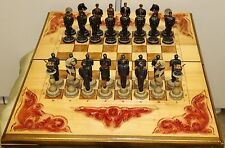 Russian Bread Chess Set №2: «Jailhouse. Guards vs Prisoners»