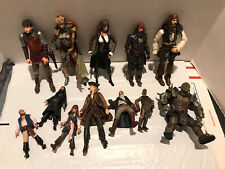 Pirates of the Caribbean Lotr Action Figures + other 3.75�-6.5� Good Condition