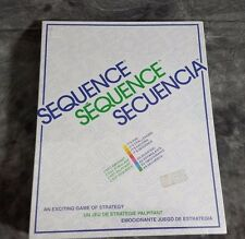 Factory Sealed 1995 Sequence Board Game Play