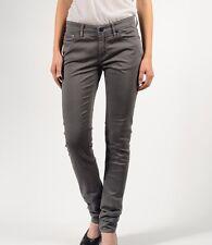 NEW! DENHAM CLEANER PSS Women's Stretch Grey Sateen Sample Trousers - W30* L34*