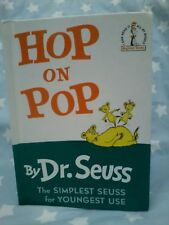 HOP ON POP  Dr Seuss Hardcover Classic Children Nonsense Rhymes MANY MORE LISTED