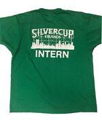 Vtg Screen Stars Silvercup Studios Intern T Shirt Med Sopranos 30 Rock Mad Men
