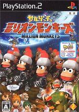 Used PS2 Sarugetchu Million Monkeys Japan Import (Free Shipping)、