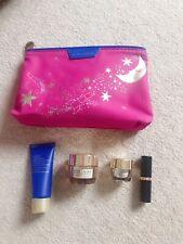 Estee lauder gift set cleanser face eye cream full size lipstick pouch value