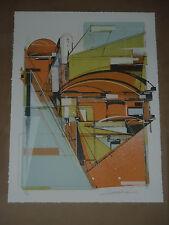 Study of a Manifest Horizon Augustine Kofie signed art print poster