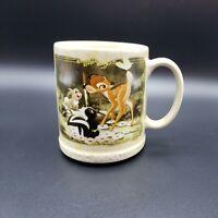 Disney Store Bambi Classic Animation Coffee Tea Mug Cup Thumper Flower