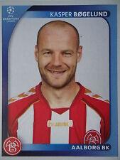 Panini 32 Kasper Bögelund Aalborg BK UEFA CL 2008/09