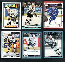 12 CARD LOT 5 WAYNE GRETZKY MIX BRANDS 1990'S SCORE UD #'D SUNDIN FORSBERG SAKIC