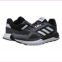 Adidas Men's Run 80S Running Shoe, Black/Grey, Size 8