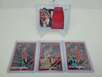 Lot Of (4)- Chicago Bulls Cards- NT Wendell Carter Jr., Optic Red Dunn, LaVine..