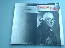 SB-Album Deutscher Ruhm - 1933 Bergmann Zigarettenbilder Heer Luftaffe Marine