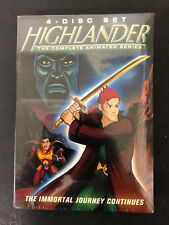 Highlander: The Complete Animated Series  (DVD 4-Disc Set) NEW SEALED