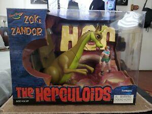Zok & Zandor NEW The Herculoids Hanna Barbera Toynami 2003 Action Figures