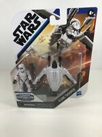 "STAR WARS HASBRO 2020 MISSION FLEET 2"" CLONE TROOPER THE CLONE WARS ARENA RESCUE"