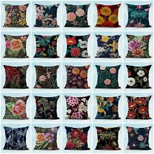 Us Seller- set of 20 flower retro cushion covers throw pillow cases