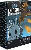 Unstable Unicorns Dragons Expansion Pack Cards Game