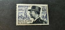 TIMBRE FRANCE 1954 N°982 NEUF ** LUXE MNH MARECHAL DE LATTRES TASSIGNY COTE 2,5€