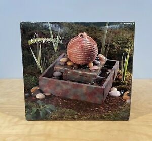 Tabletop Beehive Tranquil Falls Relax Waterfall Indoor Fountain Ceramic