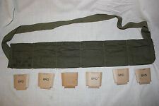 US Military Issue M1 GARAND BANDOLEER WITH CARDBOARD INSERTS  REPACK KIT StokPic