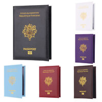 Eg _ Portable Voyage Passport Carte D'Identité Cache Etui Support Protection
