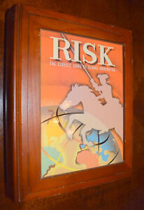 Risk Bookshelf Edition Board Game Replacement Parts & Pieces 2005 PB Hasbro