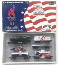 NEW Revell NASCAR Dale Earnhardt 1996 Atlanta Olympic 6-Piece Train Set HO Scale