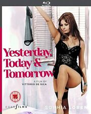 Yesterday, Today and Tomorrow (1963) Sophia Loren Blu-Ray NEW (USA Compatible)