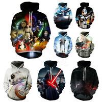Hot Movie Star Wars 3D Print Hoodie Men Women Casual Pullover Hoodie Sweatshirt