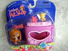 Littlest Pet Shop BEAGLE Dog w/Heart Case lot #16 NIB Rare Retired FIRST 80 PETS