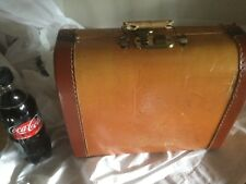 Vintage french childrens luggage
